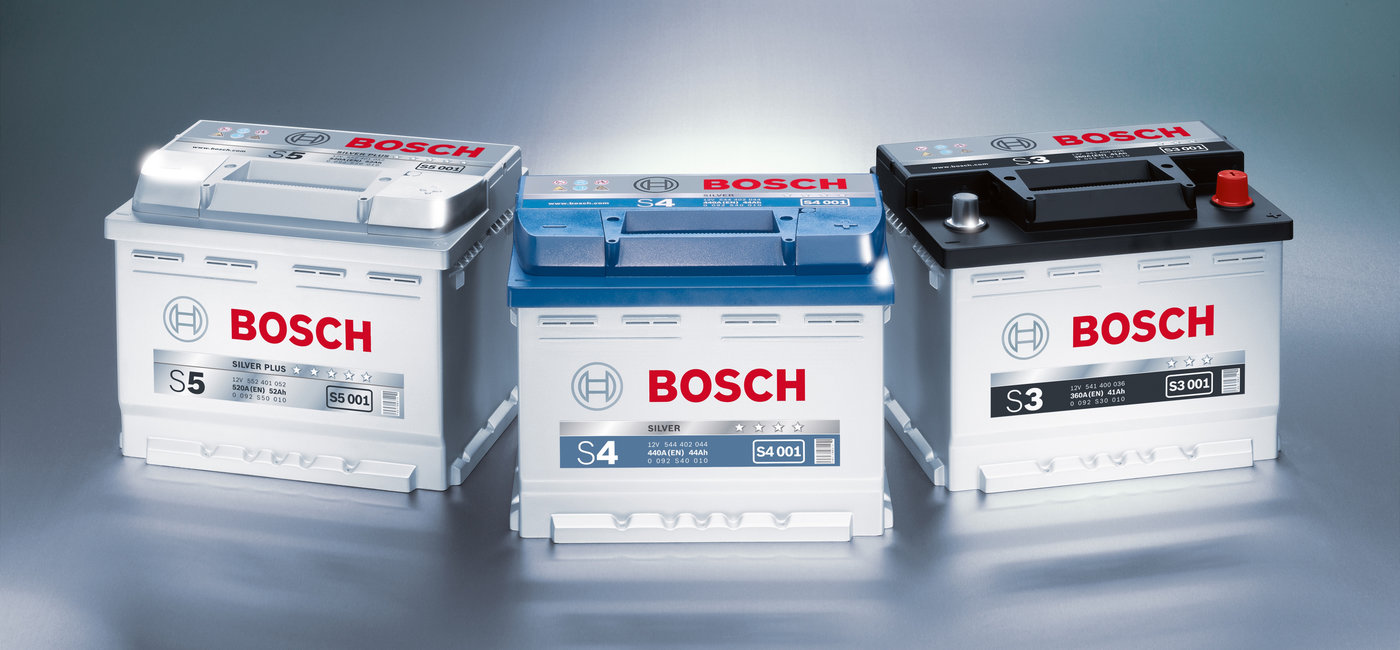 We Supply Bosch Batteries